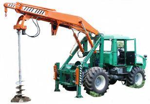 autre matériel TP HTZ Бурильно-крановая машина БКМ-3У на базе тракторов ХТЗ 150К-09, Х
