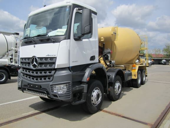 camion malaxeur LIEBHERR HTM 1004 - 10 m³ neuf