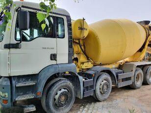 camion malaxeur Stetter  sur châssis MAN 35.300