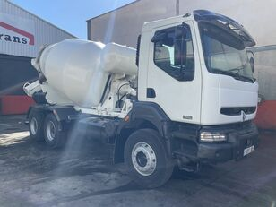 camion malaxeur Baryval  sur châssis RENAULT 320