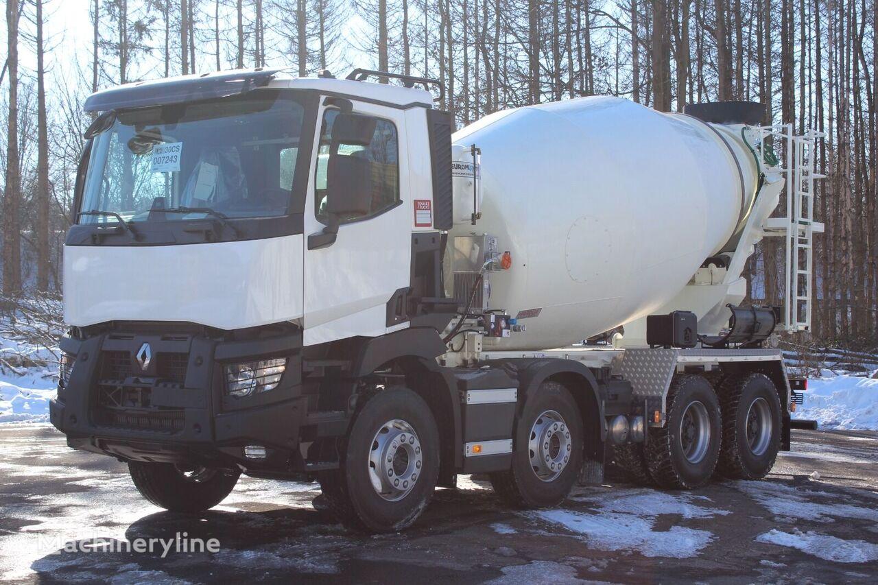 camion malaxeur Euromix EM 9 R sur châssis RENAULT C 430 neuf