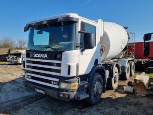 camion malaxeur SCANIA P 114