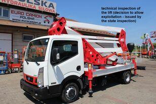 camion nacelle NISSAN Cabstar NT400  20 m Socage 20D