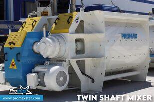 centrale à béton PROMAX 2 m3 /3 m3 TWIN SHAFT MIXER neuve