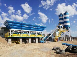 centrale à béton PROMAX Compact Concrete Batching Plant C100-TWN-LINE (100m3/h) neuve