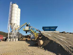 centrale à béton PROMAX Mobile Concrete Batching Plant PROMAX M60-SNG (60m3/h) neuve