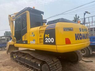 excavatrice amphibie KOMATSU USED  KOMATSU  PC200  JAPAN  MADE EXCAVATOR