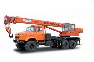grue mobile KRAZ 65053 neuve