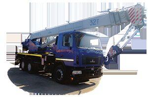 grue mobile KS 5571BY-C-22 sur châssis MAZ 6312C3-529-010 neuve
