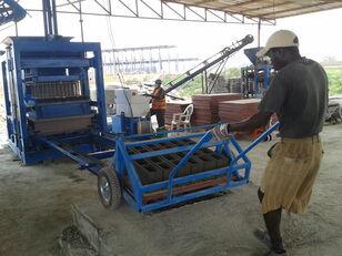 machine de fabrication de parpaing CONMACH BlockKing-25MS Concrete Block Making Machine -12.000 units/shift neuve