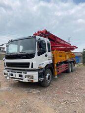 pompe à béton SANY 2011 renovated 37m on ISUZU 6*4 truck pour pièces détachées