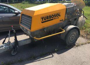 pompe à béton Putzmeister TURBOSOL TRANSMAT TM27.45 DC sur châssis TRANSLYFT TURBOSOL TRANSMAT TM27.45 DC