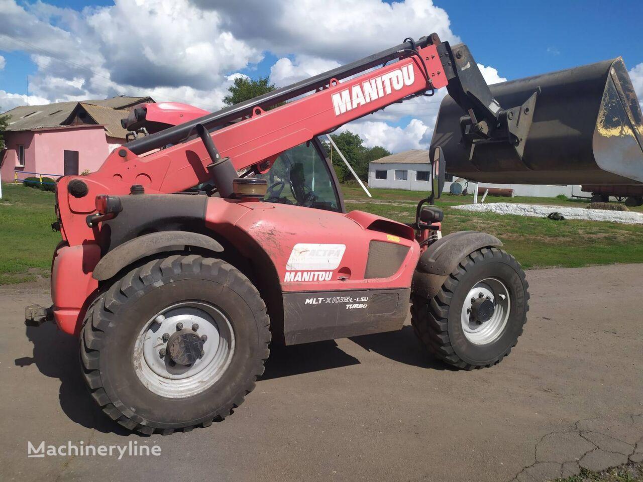 chariot télescopique MANITOU MLT-X 1035 L-LSU Turbo