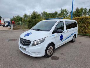 ambulance MERCEDES-BENZ VITO 163 CV - 2018 - 204 000 KM - AUTOMATIC