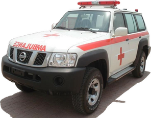ambulance NISSAN Patrol 4.0 XE AT neuve